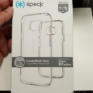 Case speck for samsung galaxy s7 active clear new